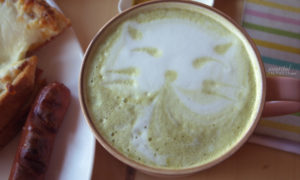 MIES: Green Tea Latte