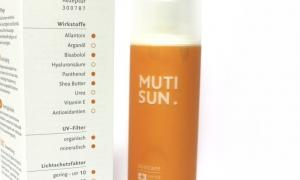 MUTISUN – die individuelle Sonnenpflege