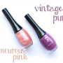 Glamourous Pink and Vintage Purple