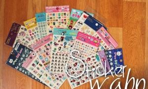 Sticker-Wahn | GIVEAWAY