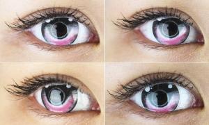 Augen wie gezeichnet | Circle Lenses