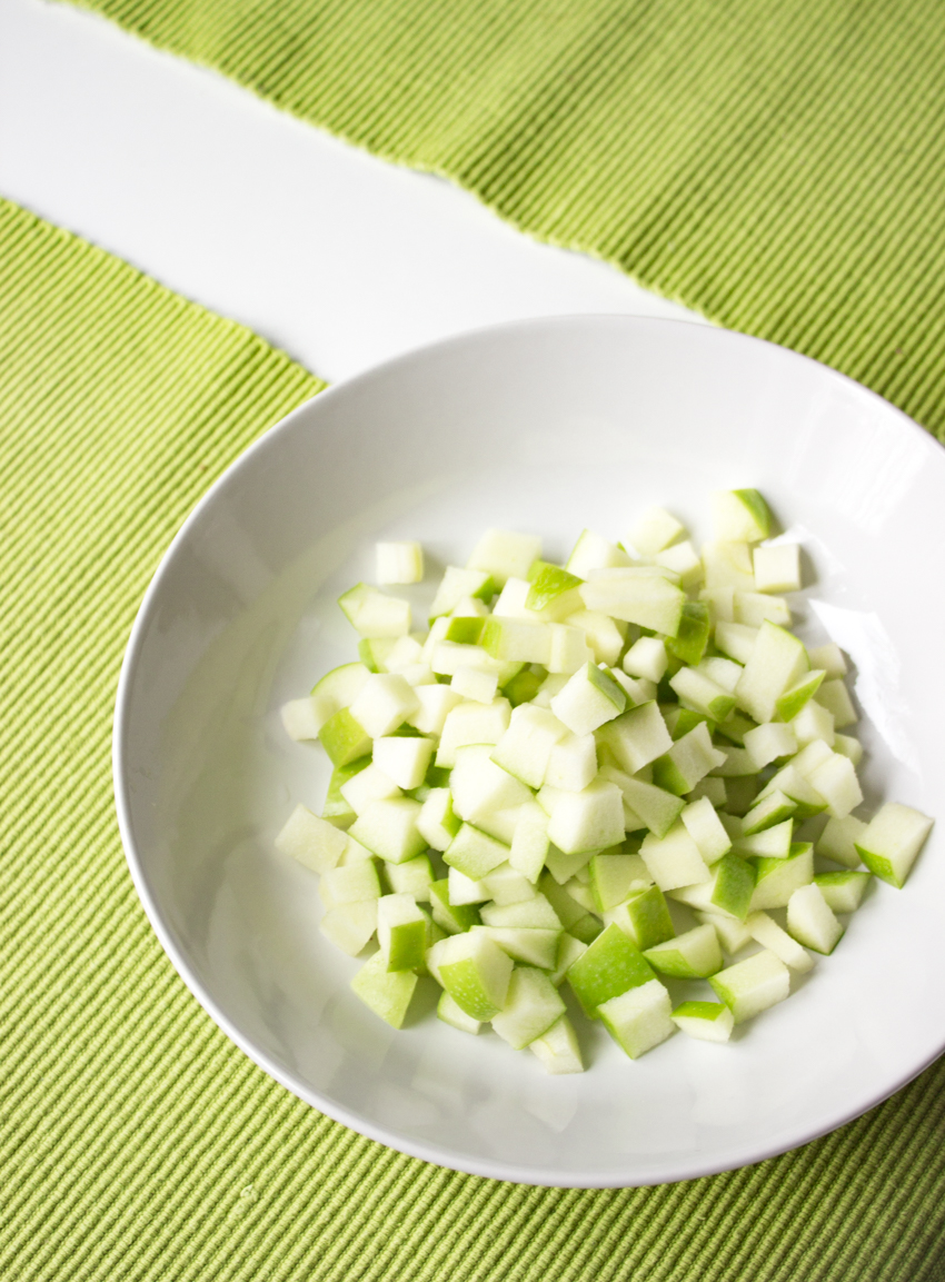 Granny Smith Grüner Apfel im Salat