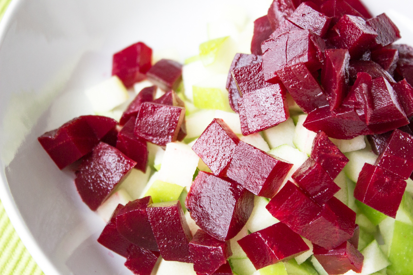 Zutatenliste Rote Bete Salat