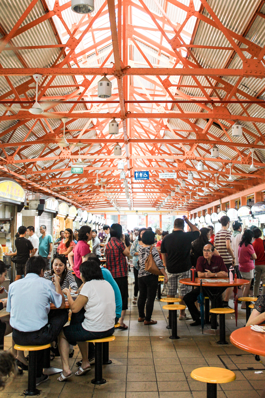 Essen in Singapur Hawker Center