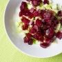Rote Bete Salat mit grünem Apfel