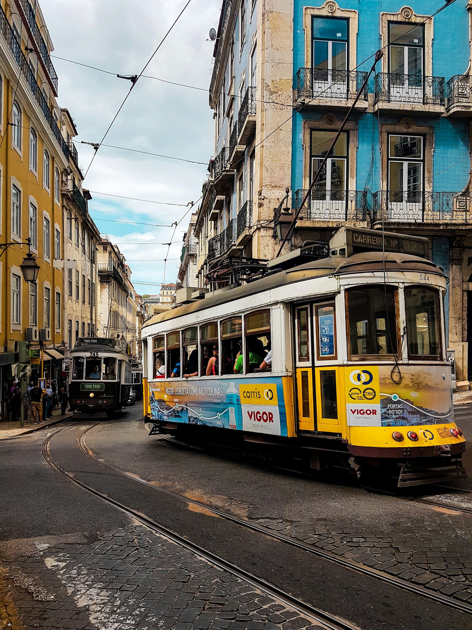 Tram-28-Hauptstadt-Lissabon